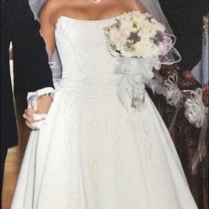 Wedding two piece gown